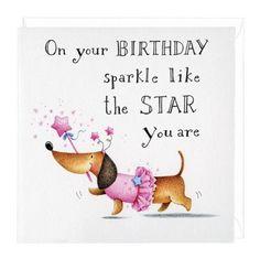 Birthday painting cards