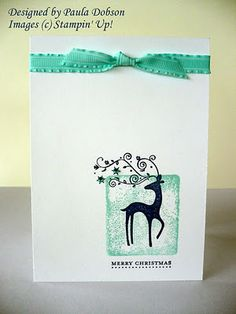 Stampinantics cards idea ink an acrylic stamp block stamp solid