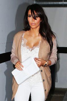 Kim      Kim Kardashian Heads to a Business Meeting