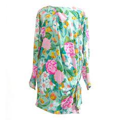 via BKLYN contessa :: ungaro silk pastel dress :: c1980s