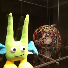 Green Guy loves #museums. He recently visited @seattleart!