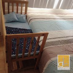 Cuna Colecho ArTendencia.- Colecho Ideas, My Bebe, Baby Needs, Baby Time, Kid Beds, Natural Living, Alexandria, My Room, Cribs