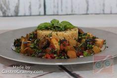 Besokalltál a hústól? Itt a megoldás: Bulguros padlizsán - GastroGranny receptjei, videó receptjei Potato Salad, Potatoes, Beef, Chicken, Ethnic Recipes, Food, Youtube, Meat, Potato
