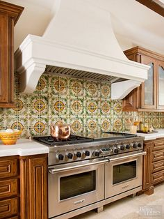 Bring color, texture, and pattern to any room in the house by adding tile to your backsplash, walls, floors, and other surfaces. Our tile decorating ideas will help you choose the right type and hue of tile for your decorating style, whether it's traditional, modern, farmhouse, or something in between!