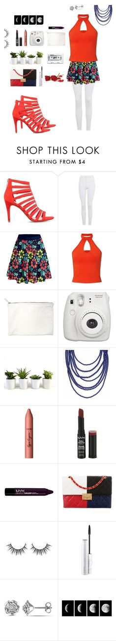 """~ what we think - we become ~"" by sarahhyland221 ❤ liked on Polyvore featuring KG Kurt Geiger, Topshop, Miss Selfridge, Clare V., Fujifilm, tarte, NYX, Chanel, MAC Cosmetics and Amour"