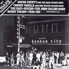 Max's Kansas City 1976 - Various Artists   Release Info   AllMusic