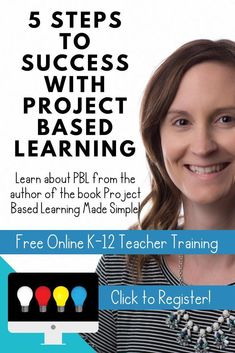 Learn how to plan and implement project based learning in your classroom! Engage even your toughest students in this easy-to-differentiate teaching method. This free online training is for teachers and includes a ton of FREE resources! Teaching Methods, Learning Resources, Teaching Ideas, Teaching Strategies, Piano Lessons, Lessons For Kids, Education Degree, Education College, Online College