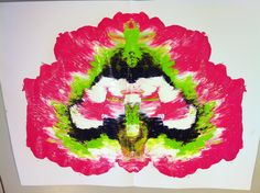 Experimenting with paint (2) by MW