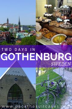 How to spend two days in Gothenburg, Sweden, including hipster Haga and the best fika | PACK THE SUITCASES
