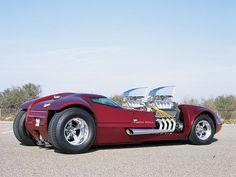 hot wheels twin mill full scale life sized replica w/ Twin Blown BigBlock Chevy V8s