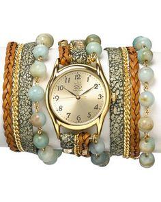 Sara Designs Agate Wrap Watch, 33mm  Bloomingdale's