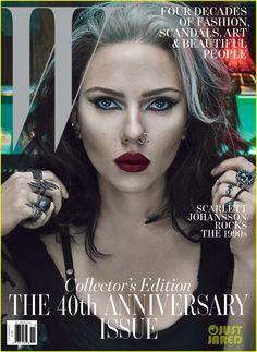 Scarlett Johansson Covers 'W' Magazine's Anniversary Issue | scarlett johansson w magazine cover 04 - Photo Gallery | Just Jared