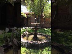 Agua Linda Farm, video of front of hacienda to door to bridal dressing room