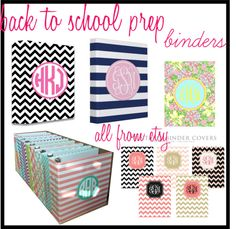 Back to School Prep: Binders