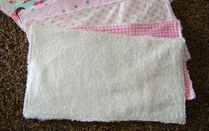 Sewin Sanity: THE BEST Burp Rags and Bibs