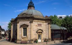 Harrogate Spa. For centuries visitors to Harrogate have drank #sulphur water from its famous spa to cure #ailments ranging from gout to back pain. Visitors nowadays however, are only permitted to smell the water, which carries a pungent whiff of rotten eggs!