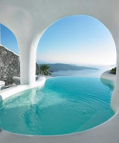Dana Villas, Santorini, Greece #thecoolhunter