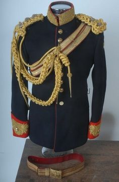 Household Cavalry-Blues & Royals  Officers Dress Tunic etc.