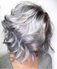 Silver grey hair dye unique beehive hair spray plus instagra Mens Gray Hair Dye, Silver Grey Hair Dye, Grey Hair Wig, Lilac Hair, Silver Hair Colors, Silver Hair Styles, Grey Hair Colors, Grey Hair Young, Lavender Grey Hair