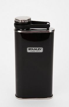 cool - the classic stanley flask, now in black!