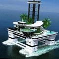 Mobile floating island is a billionaire's newest toy (17 Photos)