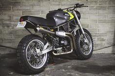 Ducati 900 SuperSport Scrambler ~ Return of the Cafe Racers