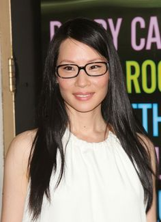 Pin for Later: 69 Celebs With Serious Specs Appeal Lucy Liu