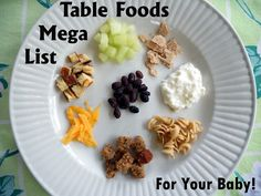Awesome blog from OT about transitioning to table food