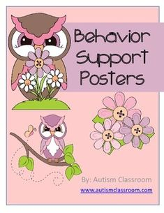 Ok, interesting...Free behavior support posters to remind staff members how to support positive behaviors!!!!