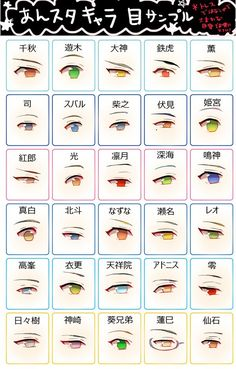 eye shapes drawing 131378514113634749 - Source by demonnoiree Drawing Poses, Manga Drawing, Drawing Tips, Manga Art, Anime Art, How To Draw Anime Eyes, Manga Eyes, Eye Drawing Tutorials, Drawing Techniques