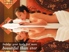 Get a massage at Peak Spa Beauty Salon