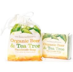 A silky soft antibacterial soap bar with all the antiseptic properties of Tea Tree, avocado, shea and cocoa butter in a branded organic cotton bag. This makes a wonderful shampoo bar. Especially good for dry and itchy scalps. 100% pure with the cleansing properties of Tea Tree Essential Oil, infused with conditioning Organic Ale.