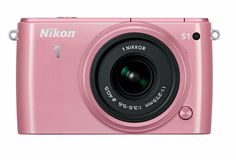 Nikon 1 S1 10.1 MP HD Digital Camera with 11-27.5mm VR 1 NIKKOR Lens (Pink). 10.1 MP super high-speed AF CMOS Sensor. Shoot 15 fps w/ autofocus. Wi-Fi Connectivity with WU-1b adapter (not included). Best Moment Capture - view live images in slow motion.