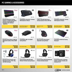 Friday News, New Egg, Black Friday Ads, Gaming Accessories, Coupons, Check, Coupon