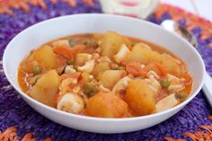 Recetas Cookeo: Patatas con sepia