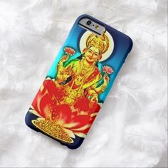 Hindu Goddess Airbrush Art iPhone 6, Barely There Case by BOLO Designs.