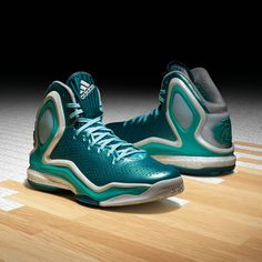 big sale c197f 285ff adidas D Rose 5 Boost The Lake. Nice the colors but only in China and