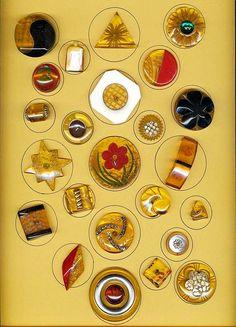 Applejuice Bakelite Buttons