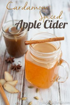 ... . Top with caramel for an awesome Caramel Cardamom Spiced Apple Cider