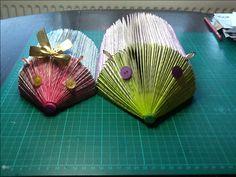 Book fold hedge hogs