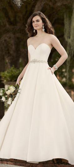 Wedding dress by Essense of Australia Spring 2016 Bridal Collection