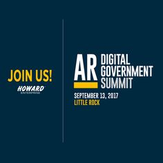 We are so excited to be attending the Arkansas Digital Gov. Summit. Come by and see us!  #Arkansas #government #Howard #enterprise #howardadvantage #business #b2b #trade #consumer #technology #digital #product #solutions #service #tech #style