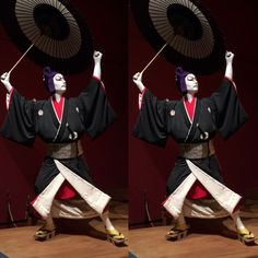 Life Size Doll Of Kabuki - 3D Stereoscopic Photography.