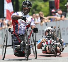 Alfredo De Los Santos, David Randall from Paralyzed Veterans of America Racing Team among handcycling winners in Chattanooga