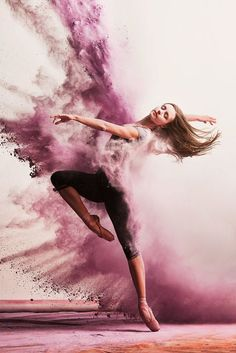 Dance is a passion.