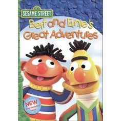 Sesame Street: Bert and Ernie's Great Adventures (dvd_video)