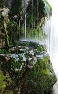 magical and spiritual places to visit in the world for life enhancing and uplifting holiday destinations Mineral Spring, Cornwall Places To Travel, Places To See, Places Around The World, Around The Worlds, Beautiful World, Beautiful Places, Les Cascades, Jolie Photo, Concrete Jungle