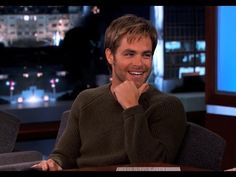 Chris Pine Has A Surprisingly Wonderful Singing Voice. Kathryn listen lol