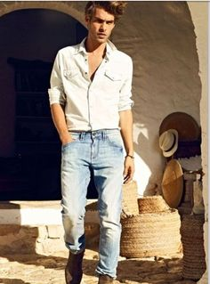 Look jeans básico yet...