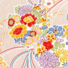 Fleurs - Papier Japonais Adeline Klam créations
